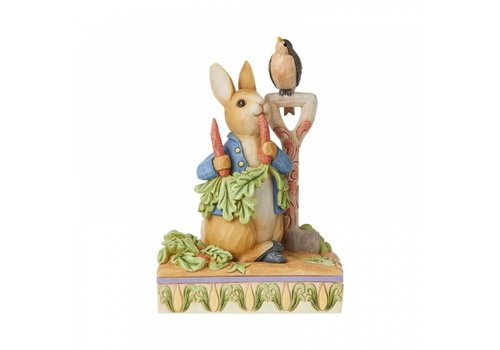 Beatrix Potter Then he ate some radishes (Peter Rabbit) - Beatrix Potter by Jim Shore