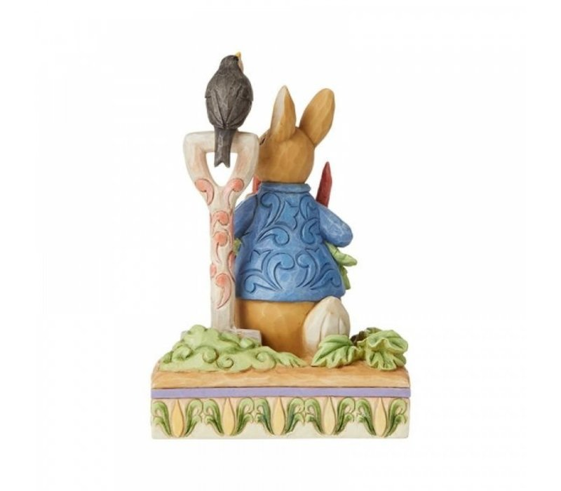 Beatrix Potter by Jim Shore - Then he ate some radishes (Peter Rabbit)