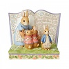 """Beatrix Potter Beatrix Potter by Jim Shore - """"Once Upon a Time There Were Four Little Rabbits"""" Storybook"""