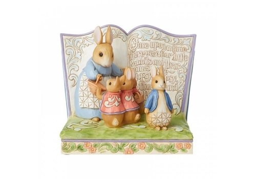 "Beatrix Potter ""Once Upon a Time There Were Four Little Rabbits"" Storybook - Beatrix Potter by Jim Shore"