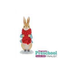 Beatrix Potter - Peter Rabbit in a Festive Scarf