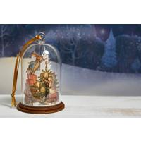 Beatrix Potter - Peter and Benjamin Bunny Christmas Wooden Hanging Ornament