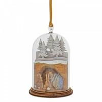 Beatrix Potter - Mrs. Rabbit in Burrow Wooden Hanging Ornament