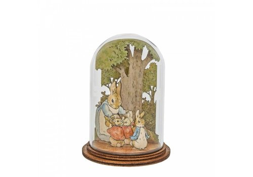 Beatrix Potter Mrs. Rabbit with Flopsy, Mopsy, Cotton Tail and Peter - Beatrix Potter