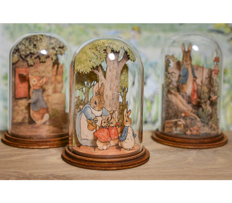 Beatrix Potter - Mrs. Rabbit with Flopsy, Mopsy, Cotton Tail and Peter