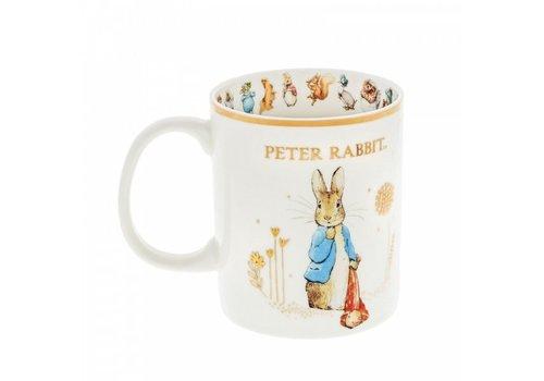 Beatrix Potter Peter Rabbit with Pocket Handkerchief Special Edition Mug - Beatrix Potter