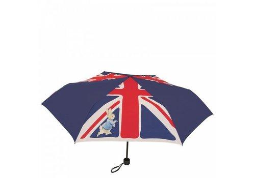 Beatrix Potter Peter Rabbit Union Jack Umbrella - Beatrix Potter