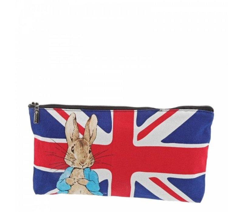 Beatrix Potter - Peter Rabbit Union Jack Pencil Case