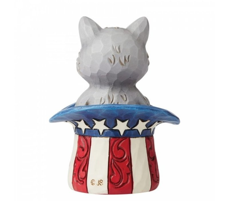 Heartwood Creek - Mini Patriotic Kitten