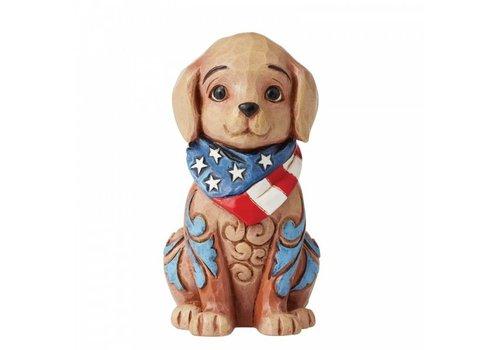 Heartwood Creek Mini Patriotic Puppy - Heartwood Creek
