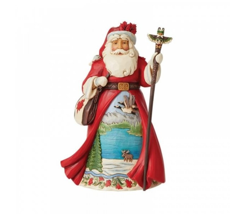 Heartwood Creek - Canadian Santa (Around the World)