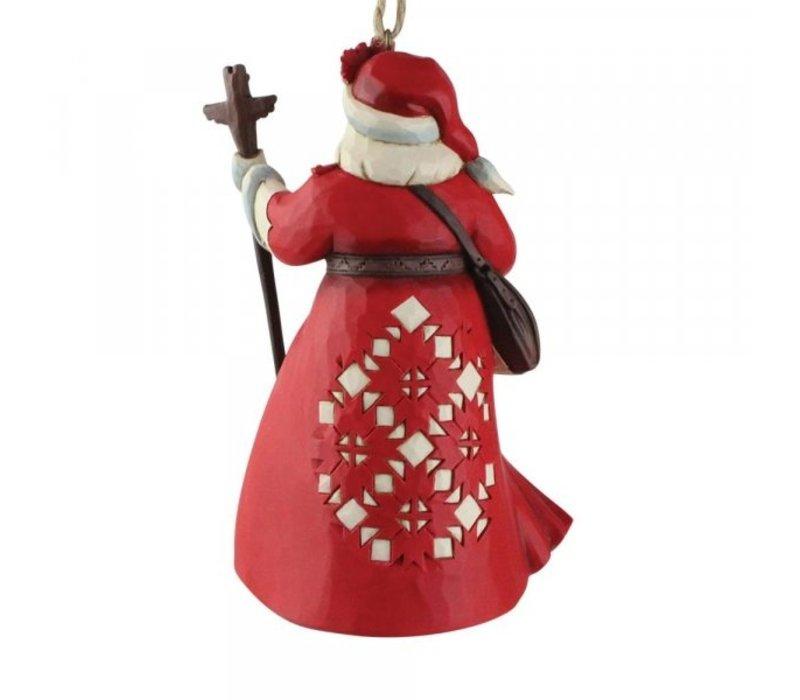 Heartwood Creek - Canadian Santa (Hanging Ornament)