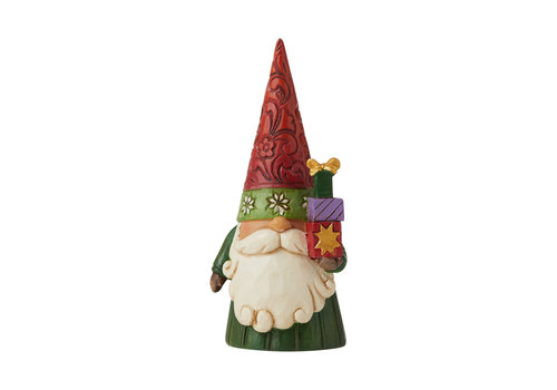 Heartwood Creek I'll Be Gnome For Christmas (Christmas Gnome holding Gifts) - Heartwood Creek