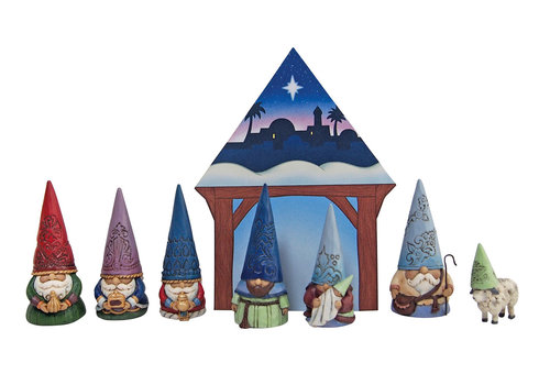 Heartwood Creek Christmas Gnome Nativity Set - Heartwood Creek