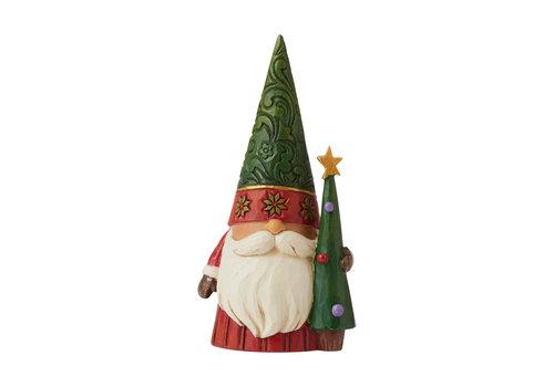 Heartwood Creek Tree-mendous Tidings (Christmas Gnome with Tree) - Heartwood Creek