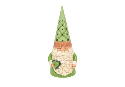 Heartwood Creek Wearin' Of The Green (Irish Gnome Holding Shamrock) - Heartwood Creek