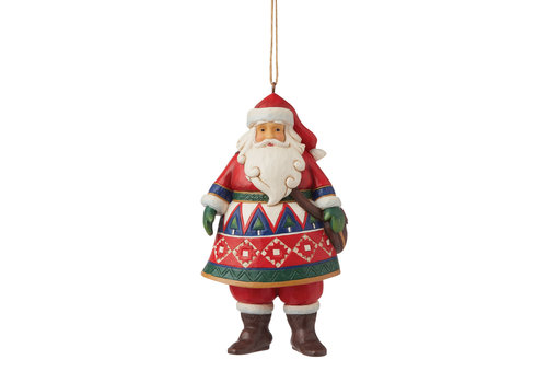Heartwood Creek Lapland Santa (Hanging Ornament) - Heartwood Creek