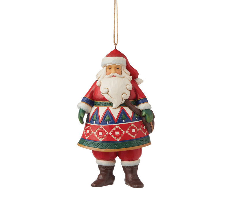 Heartwood Creek - Lapland Santa (Hanging Ornament)