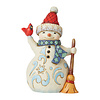 Heartwood Creek Heartwood Creek - Lift Your Spirits (Pint Sized Snowman with Cardinal)