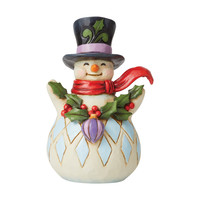 Heartwood Creek - Making Things Merry (Pint Sized Snowman with Holly Garland)