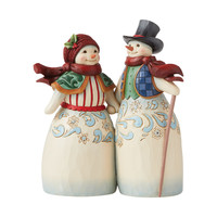 Heartwood Creek - Snow Couple Holding Hands