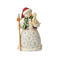 Heartwood Creek - Chase A Happy Holiday (Snowman holding Cat)