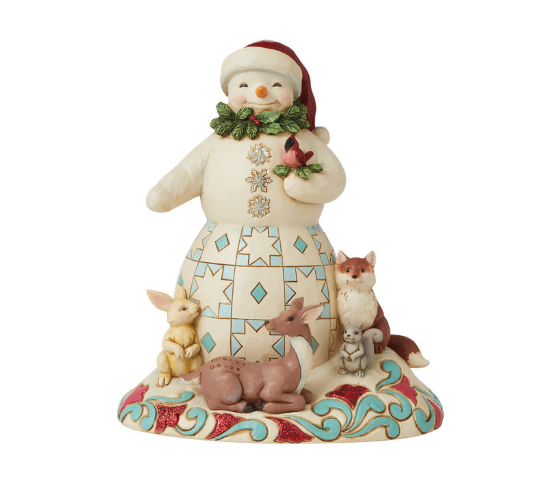Heartwood Creek - Joy For All, Great and Small (Snowman with animals)
