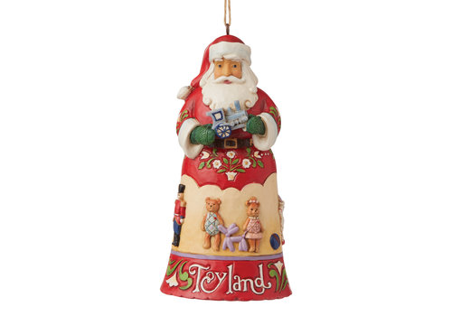 Heartwood Creek Toyland Santa (Hanging Ornament) - Heartwood Creek