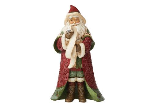 Heartwood Creek Victorian Christmas Santa with List - Heartwood Creek
