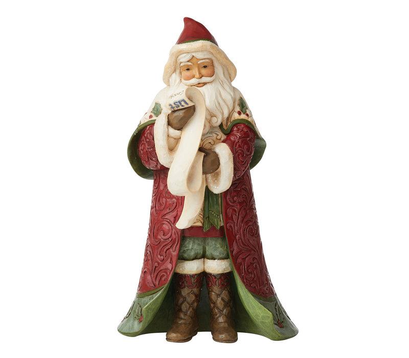 Heartwood Creek - Victorian Christmas Santa with List