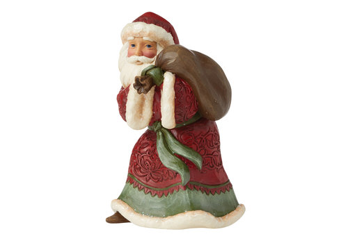 Heartwood Creek Victorian Christmas Small Santa with Toy Bag - Heartwood Creek