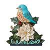 Heartwood Creek Heartwood Creek - Festive & Feathered (Bluebird on White Poinsettia)