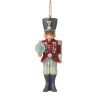 Heartwood Creek - Nutcracker with Snowflake (Winter Wonderland Hanging Ornament)