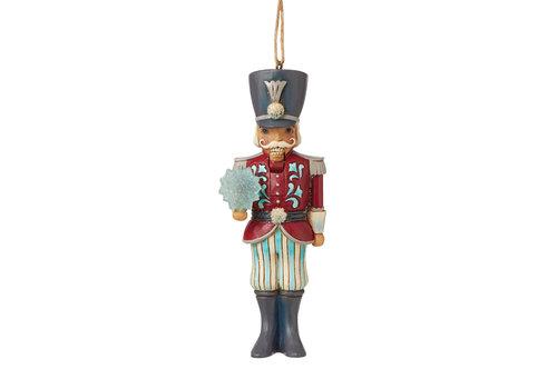 Heartwood Creek Nutcracker with Snowflake (Winter Wonderland Hanging Ornament) - Heartwood Creek