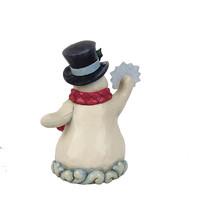 Heartwood Creek - Winter's Simple Joys (Winter Wonderland Small Snowman holding Snowflake)