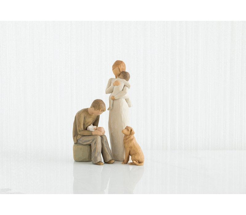 Willow Tree - Love my Dog (light)