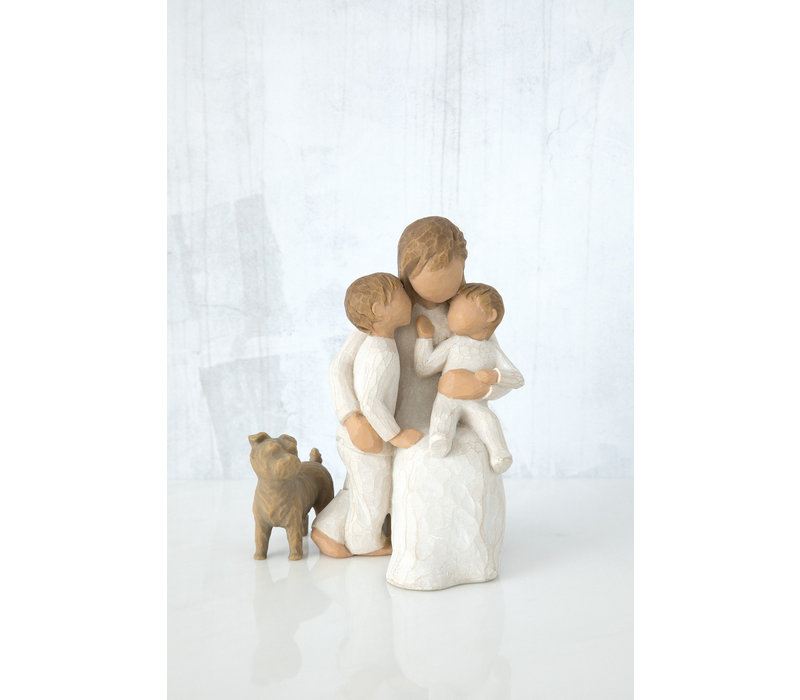 Willow Tree - Love my Dog (small, standing)