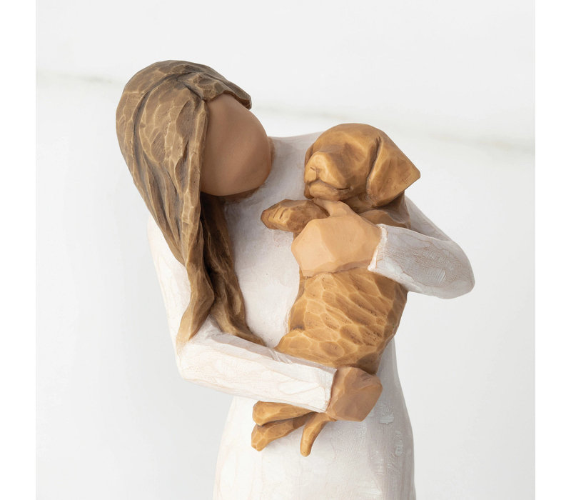 Willow Tree - Adorable You (golden dog)