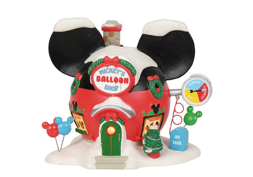 Disney Village by Department 56 Mickey's Balloon Inflators - Disney Village by D56