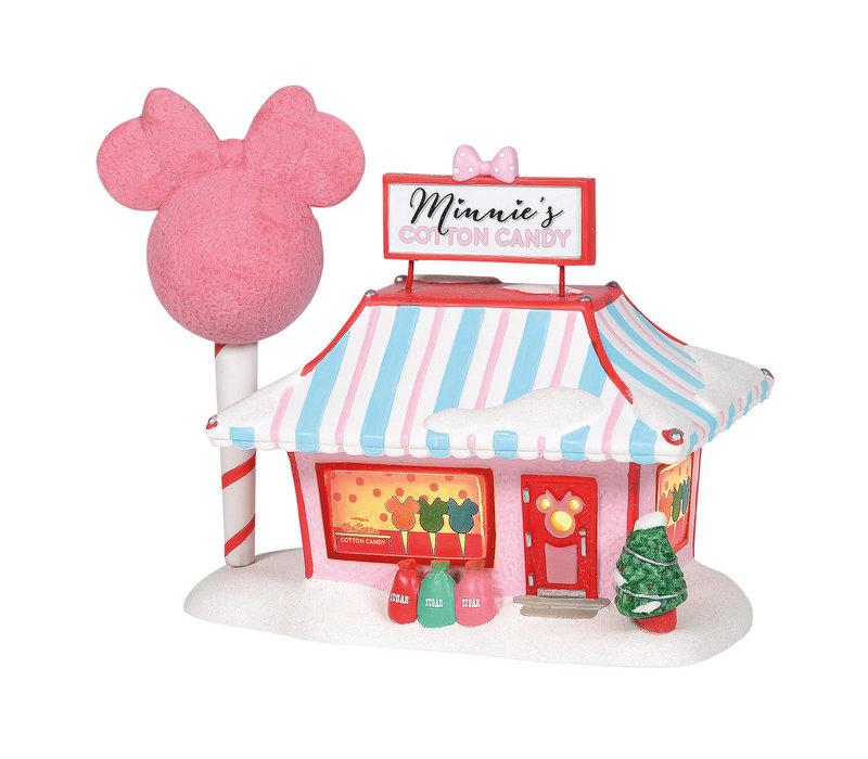 Disney Village by D56 - Minnie Mouse's Cotton Candy Shop
