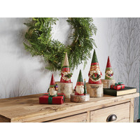 Heartwood Creek - Decorating Gnome and Hearth (Christmas Gnome holding Wreath)