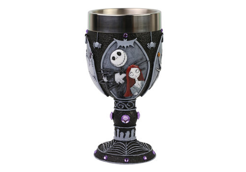 Disney Showcase Collection Nightmare Before Christmas Decorative Goblet - Disney Showcase Collection