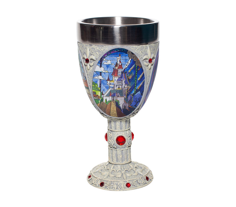 Disney Showcase Collection - Beauty and the Beast Decorative Goblet