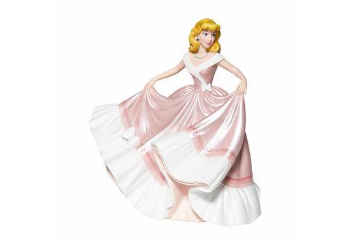 Disney Showcase Collection Cinderella in Pink Dress Couture de Force - Disney Showcase Collection