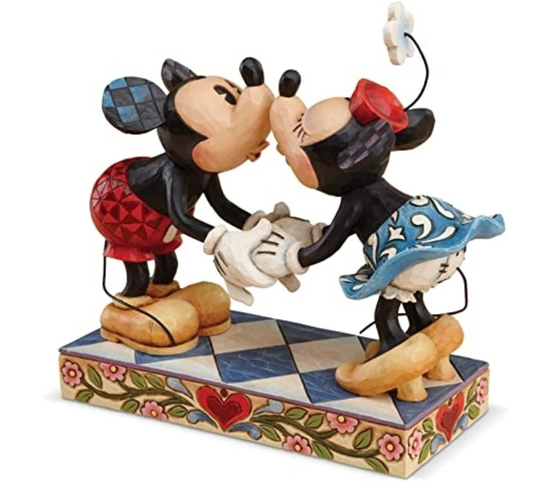 Disney Traditions - Smooch for my Sweetie (Mickey & Minnie Mouse)