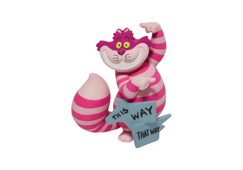 Disney Showcase Collection This Way, That Way Cheshire Cat - Disney Showcase Collection