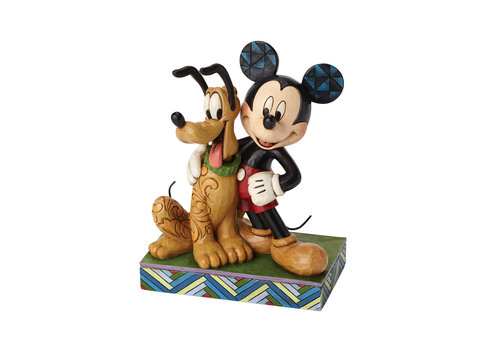Disney Traditions Best Pals (Mickey Mouse & Pluto) - Disney Traditions