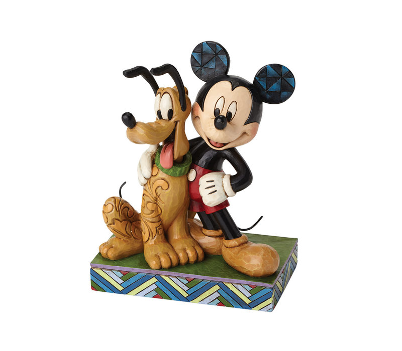 Disney Traditions - Best Pals (Mickey Mouse & Pluto)
