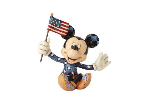 Disney Traditions Mickey Patriotic Mini - Disney Traditions