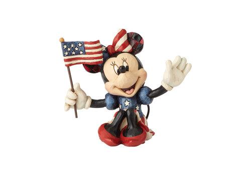 Disney Traditions Minnie Patriotic Mini - Disney Traditions